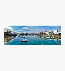 Touristic port in Arrecife Photographic Print