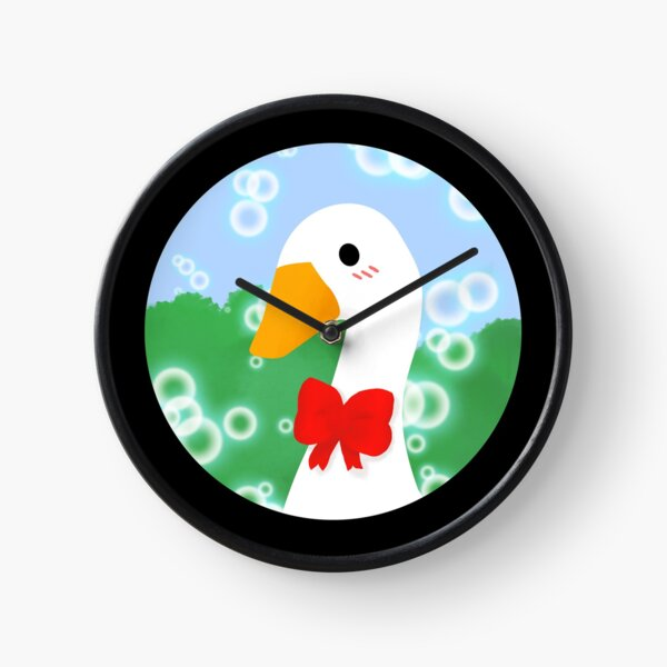 Lovely Untitled Goose  Clock