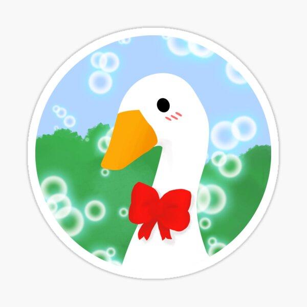 Lovely Untitled Goose  Sticker
