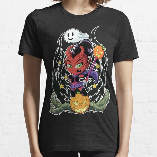 Magic Devil Girl Essential T-Shirt