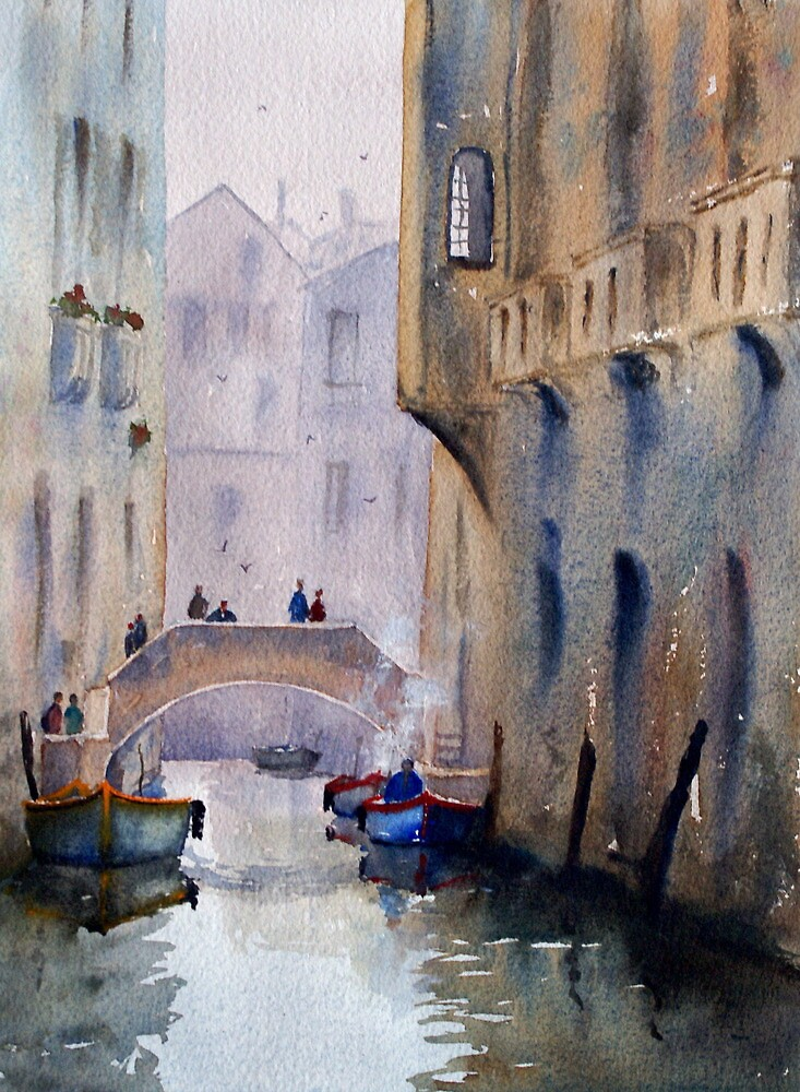 quotvenice canalquot by joe cartwright redbubble