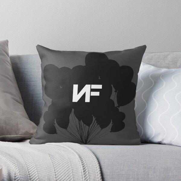 NF Balloons Throw Pillow