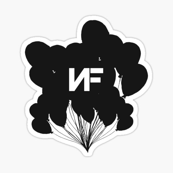 NF Balloons Sticker
