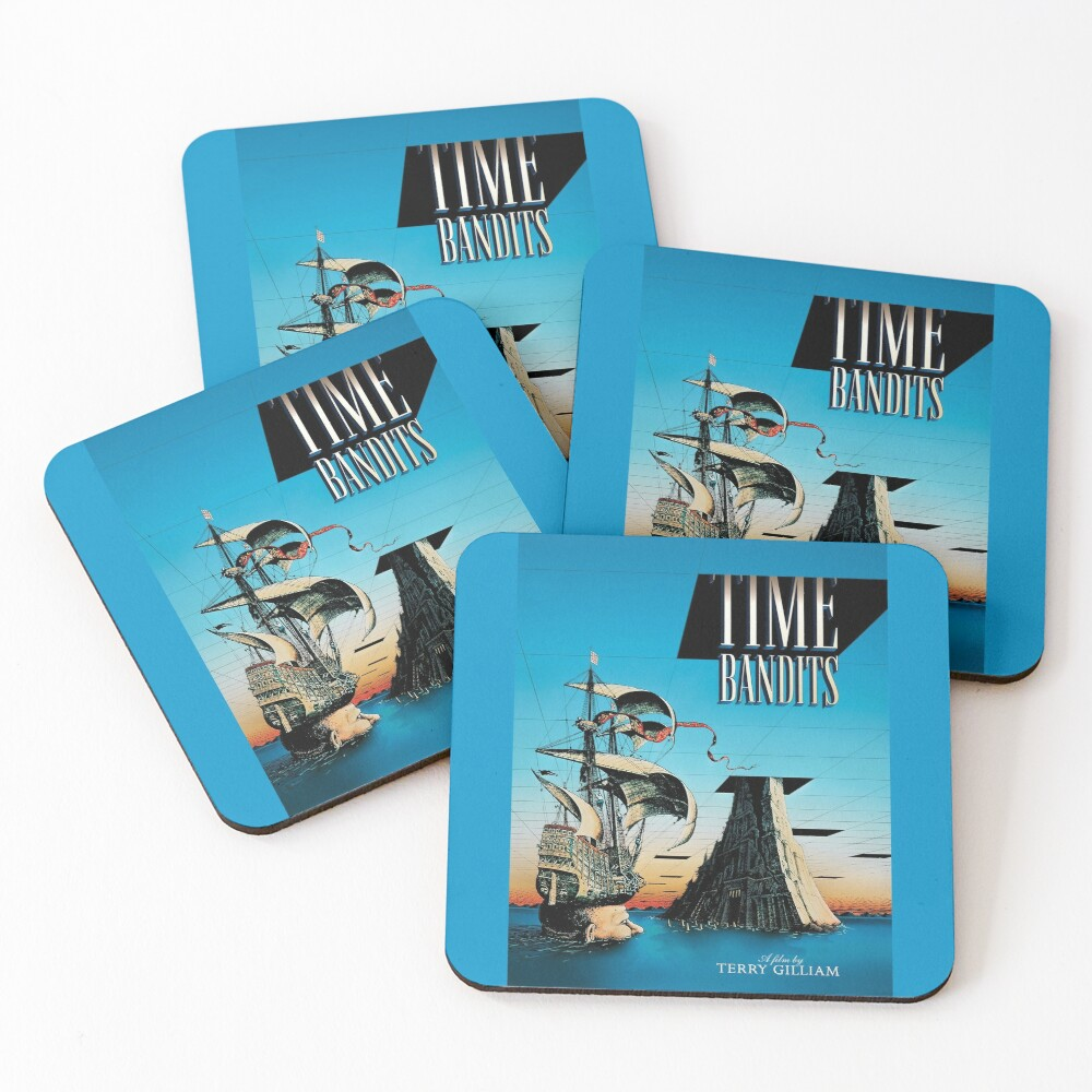 Time Bandits Coasters (Set of 4)