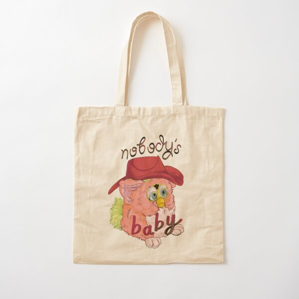 Nobody's Baby Cotton Tote Bag