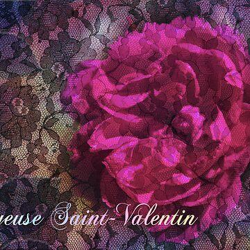 Valentin, amour et dentelle by kameleonart