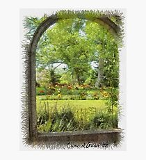 Gardens in Nova Scotia Photographic Print