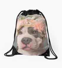 Flower Power, Bertha Bean Drawstring Bag