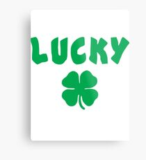 Luck Of The Irish Metal Print