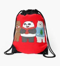 We Bare Bears Drawstring Bag
