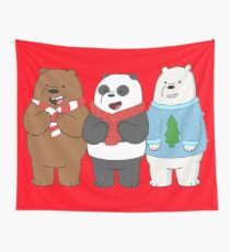 We Bare Bears Wall Tapestry
