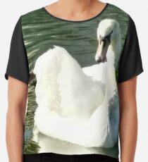 Merch #48 -- Swan - Shot 6 Chiffon Top