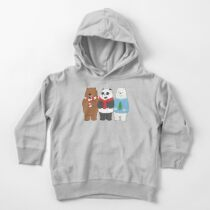 We Bare Bears Toddler Pullover Hoodie