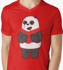Panda V-Neck T-Shirt