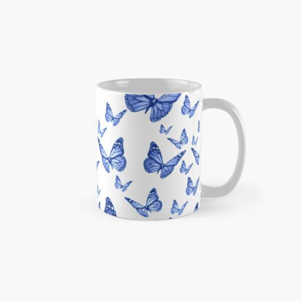 Fluttering Blue Butterflies Classic Mug