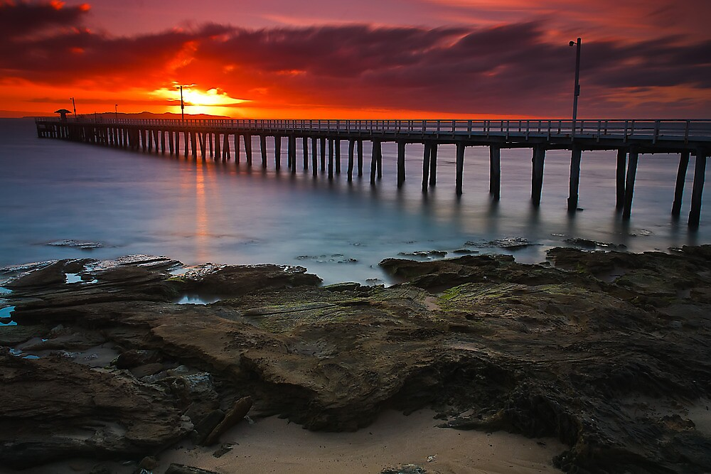 Sunrise at Point Lonsdale #1 by Jason Green