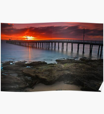 Sunrise at Point Lonsdale #1 Poster