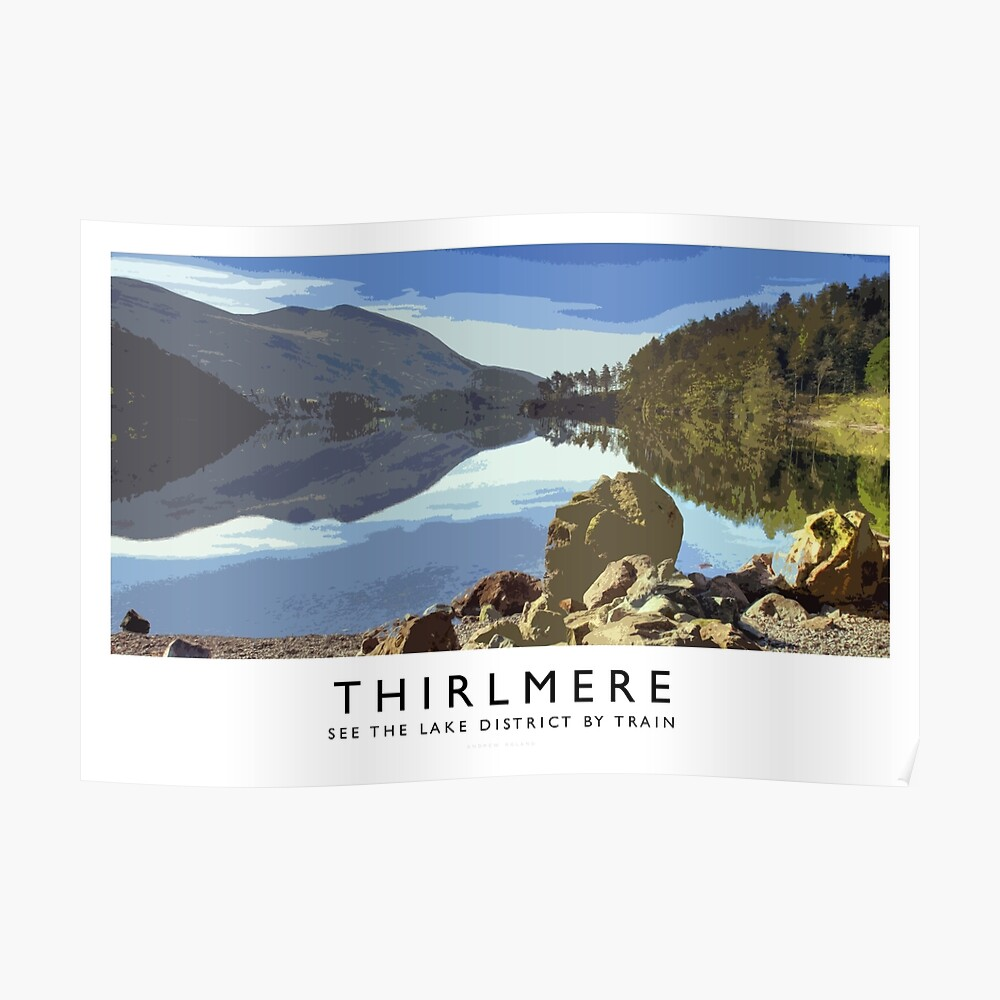 Thirlmere (Railway Poster) Poster