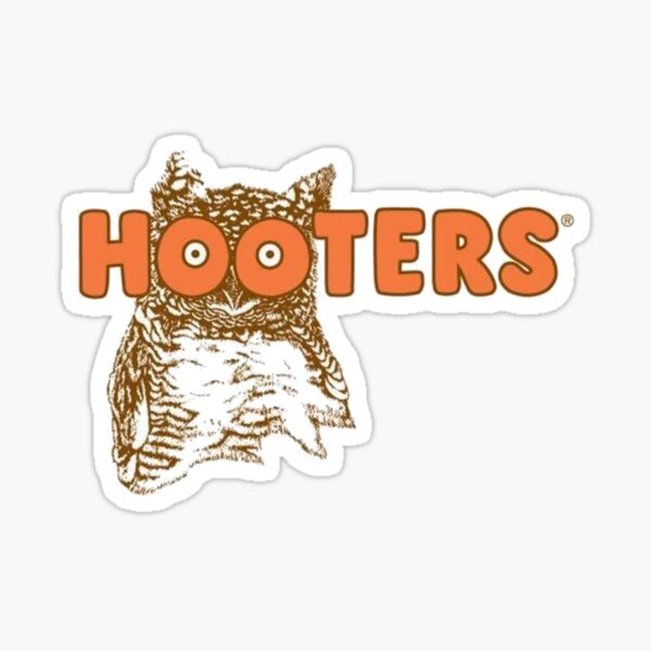 Hooters Restaurant Logo Sticker