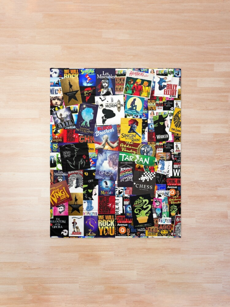 Alternate view of Musicals Collage IV  Comforter