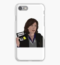 Agent Monica reyes FBI iPhone Case/Skin