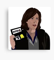 Agent Monica reyes FBI Canvas Print