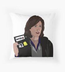 Agent Monica reyes FBI Throw Pillow