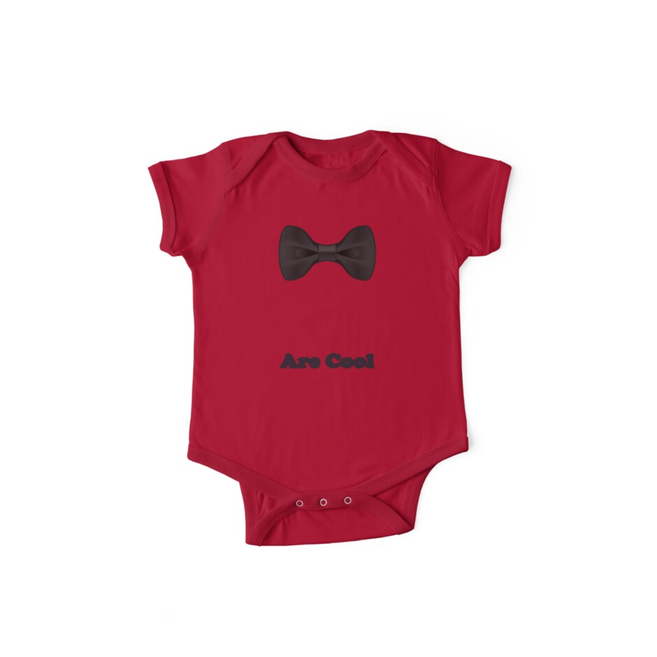 Baby Bow Tie - Jumpsuit - T-Shirt - Are Cool - Clothing Sticker by deanworld
