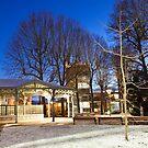 Cavilam cafeteria at night by Alexander Davydov