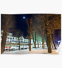 Rue du President Wilson Poster