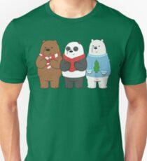 We Bare Bears Slim Fit T-Shirt