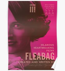 Fleabag, Phoebe Waller-Bridge, british comedy show, alternative poster Poster