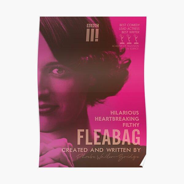 Fleabag, Phoebe Waller-Bridge, spectacle de comédie britannique, affiche alternative Poster