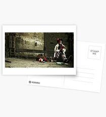 Alone Postcards