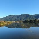 Lake in Golden Bay, New Zealand - near Whanganui Inlet by TrueInsightsNZ