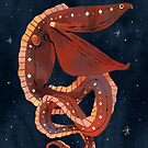 Starry Gulper Eel by salami-spots