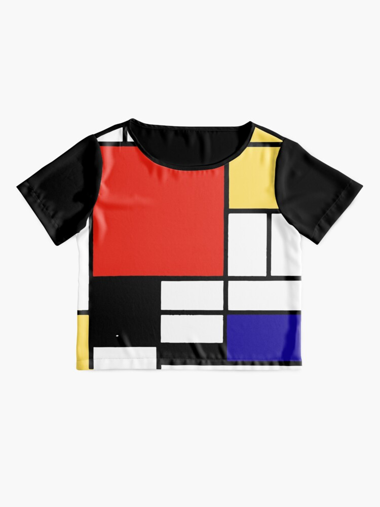 Alternate view of Mondrian  Chiffon Top