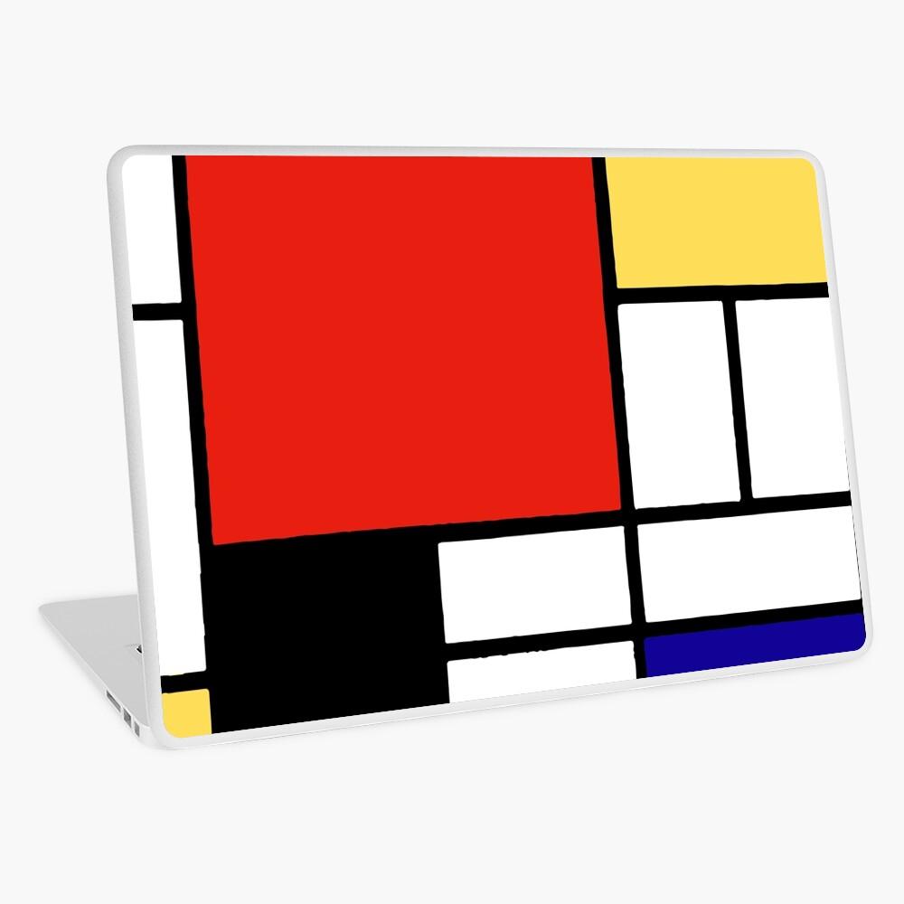 Mondrian  Laptop Skin