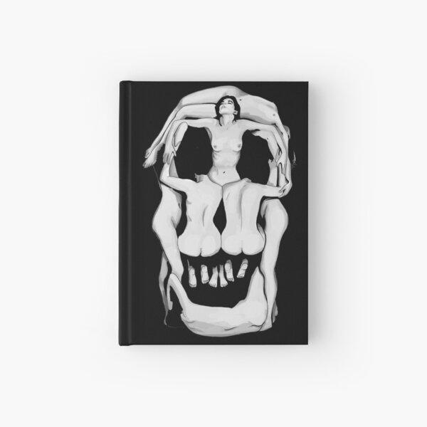 Salvador Dalí's Skulls - BLACK Hardcover Journal
