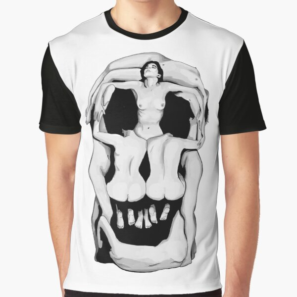 Les crânes de Salvador Dalí - NOIR T-shirt graphique