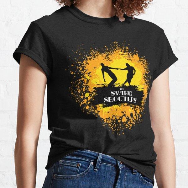 Jitterbugs Peinture Jaune & Orange T-shirt classique