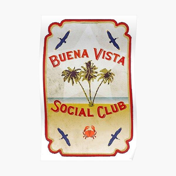 Buena Vista Social Club Beach Poster