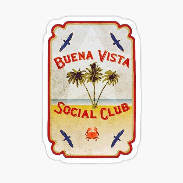 Plage du Buena Vista Social Club Sticker