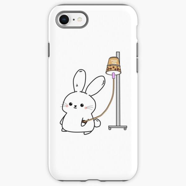Bubble Tea Bunny iPhone Tough Case