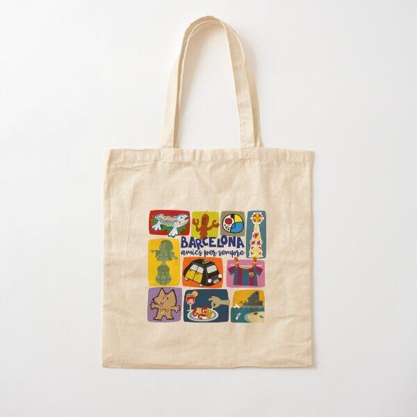 Barcelona Cotton Tote Bag
