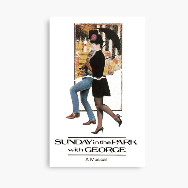 Sunday In The Park With George musical Canvas Print