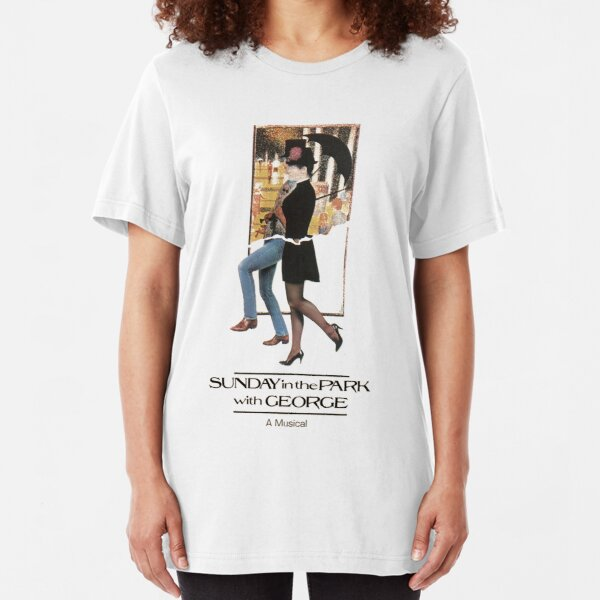 Sunday In The Park With George musical Slim Fit T-Shirt