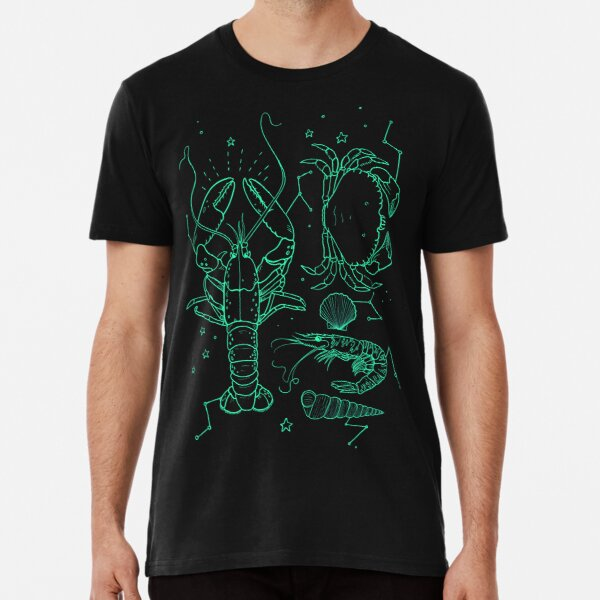 the galactic lobster T-shirt premium