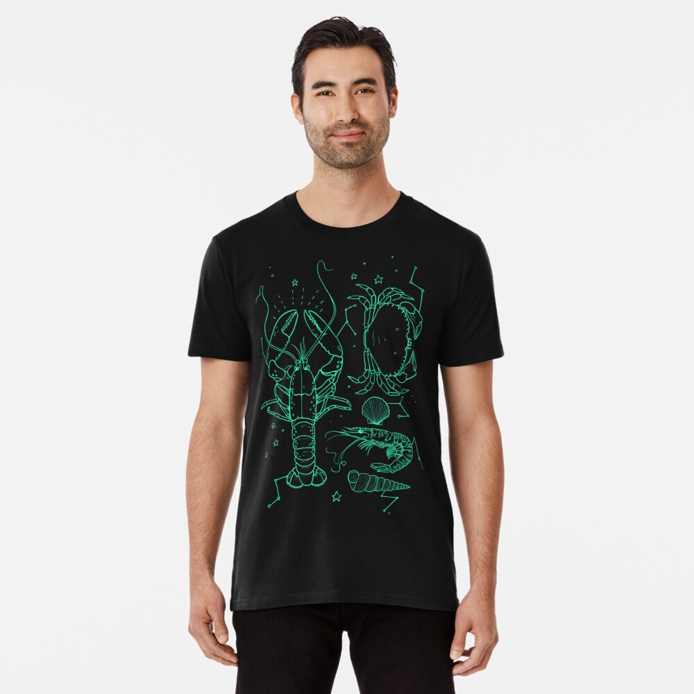 T-shirt premium «the galactic lobster»