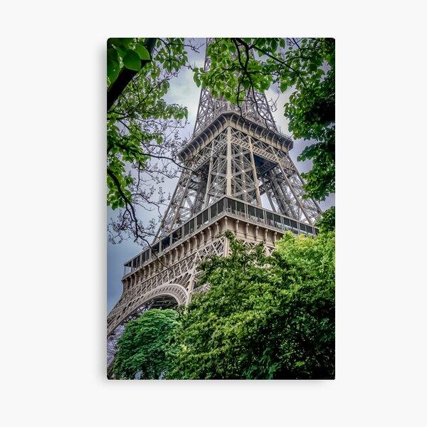 The Eiffel Tower Paris, France. Canvas Print